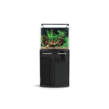 Aqua One AquaNano 80 Bow Front Aquarium and Cabinet