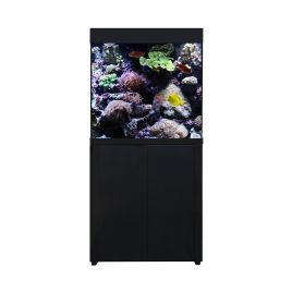 Aqua One AquaReef 195 Series 2 Aquarium and Cabinet (Black)