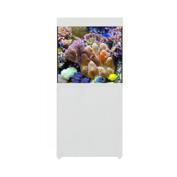 Aqua One AquaReef 195 Series 2 Aquarium and Cabinet (White)