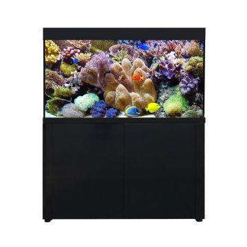 Aqua One AquaReef 400 Series 2 Aquarium and Cabinet (Black)