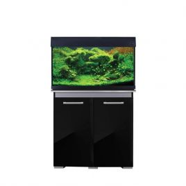 Aqua One AquaVogue 135 Aquarium and Cabinet - Gloss Black