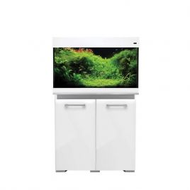Aqua One AquaVogue 135 Aquarium and Cabinet - Gloss White
