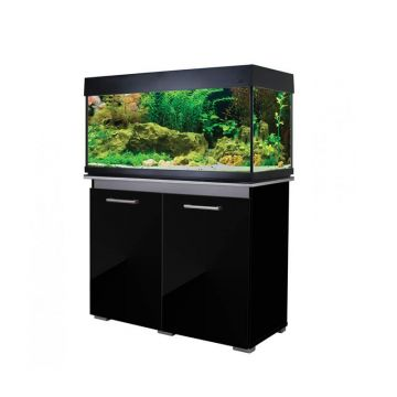 Aqua One AquaVogue 170 Aquarium and Cabinet - Gloss Black