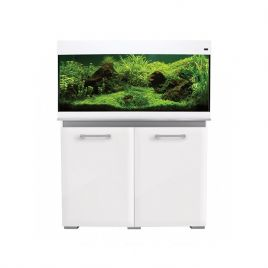 Aqua One AquaVogue 170 Aquarium and Cabinet - Gloss White