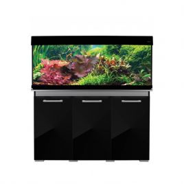 Aqua One AquaVogue 245 Aquarium and Cabinet - Gloss Black