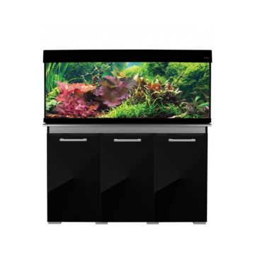 Aqua One AquaVogue 245 Gloss Black Set (Includes External Filtration)