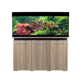 Aqua One AquaVogue 245 Aquarium and Cabinet - Nash Oak and Black
