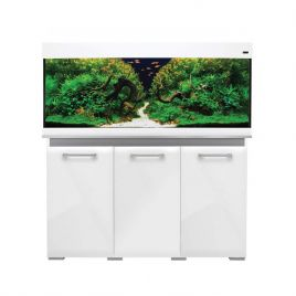 Aqua One AquaVogue 245 Aquarium and Cabinet - Gloss White