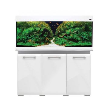 Aqua One AquaVogue 245 Gloss White Set (Includes External Filtration)