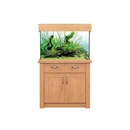 Aqua One OakStyle 145 Aquarium and Cabinet