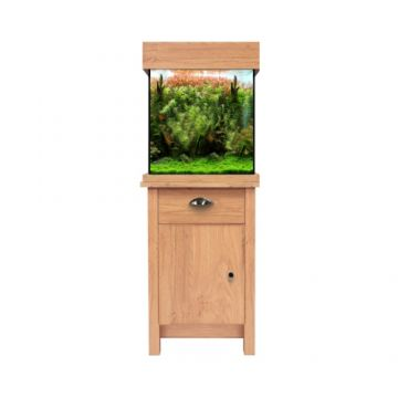 Aqua One OakStyle 85 Aquarium and Cabinet