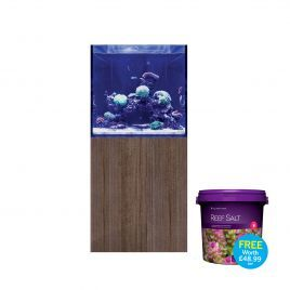 EA Reef Pro 600S Cube and Cabinet (Ultra Gloss Japanese Pear)