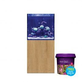 EA Reef Pro 600S Cube and Cabinet (Royal Natural Oak)
