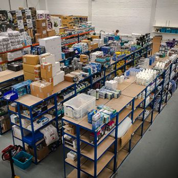 New distribution centre for Charterhouse Aquatics