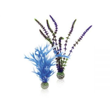 BiOrb Easy Plants -  Blue / Purple (Medium x 2)