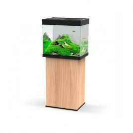 Ciano Emotions Pro 60 Aquarium and Cabinet - Amber Wood and Black