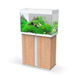 Ciano Emotions Pro 80 Aquarium and Cabinet - Amber Wood and White