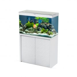 Ciano Emotions One 100 Aquarium and Cabinet - White