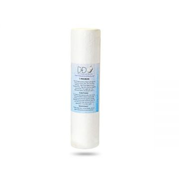 "D-D 10"" Replacement Sediment Filter Cartridge (50/75/125)"