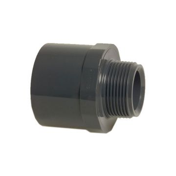 Adaptor Socket Male 25mm x 3/4""