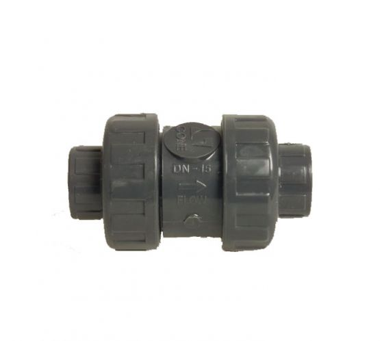 Double Union Non Return Valve 63mm
