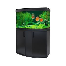 Fluval Vicenza 180 LED Aquarium and Cabinet - Black