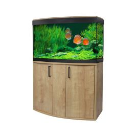 Fluval Vicenza 180 LED Aquarium and Cabinet - Oak