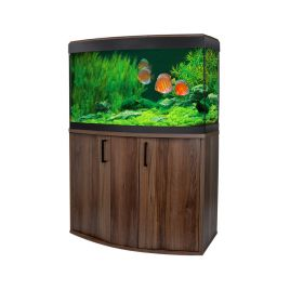 Fluval Vicenza 180 LED Aquarium and Cabinet - Walnut