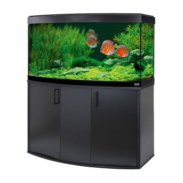 Fluval Vicenza 260 LED Aquarium and Cabinet - Black