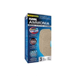 Fluval Ammonia Remover Resin Infused Pad 106/107/206/207 (3 Pack)