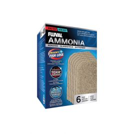 Fluval Ammonia Remover Resin Infused Pad 306/307/406/407 (6 Pack)