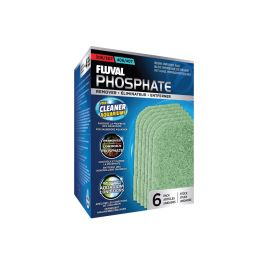 Fluval Phosphate Remover Resin Infused Pad 306/307/406/407 (6 Pack)