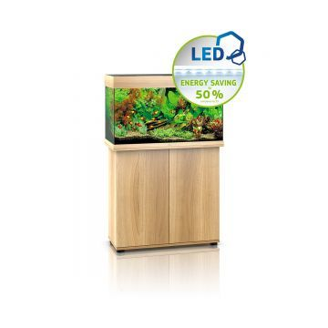 Juwel Rio 125 LED Aquarium and Cabinet (Light Wood)