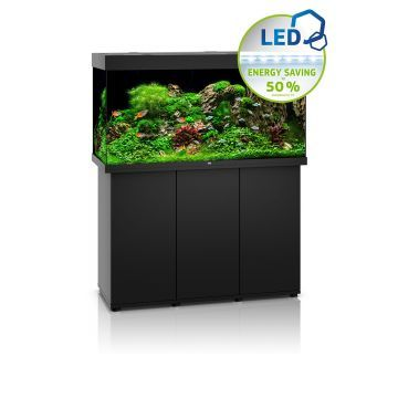Juwel Rio 350 LED Aquarium and Cabinet (Black)