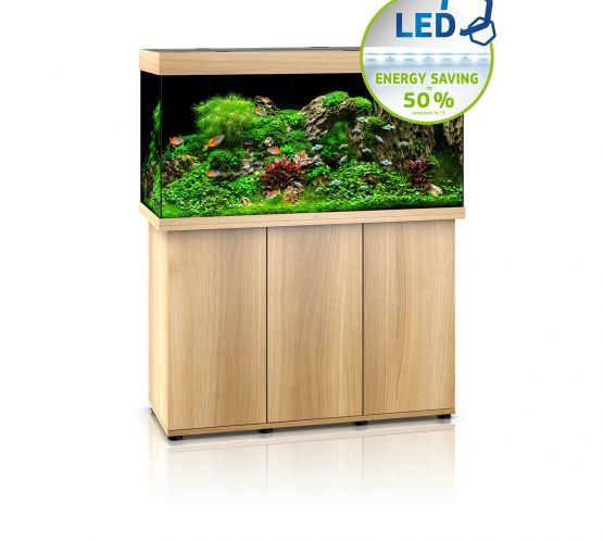Juwel Rio 350 LED Aquarium and Cabinet (Light Wood)