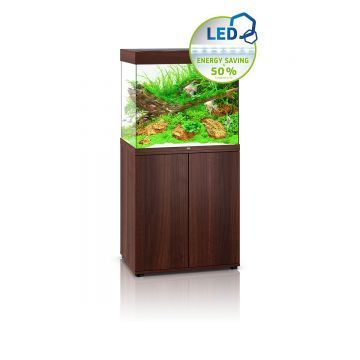 Juwel Lido 200 LED Aquarium and Cabinet (Dark Wood)