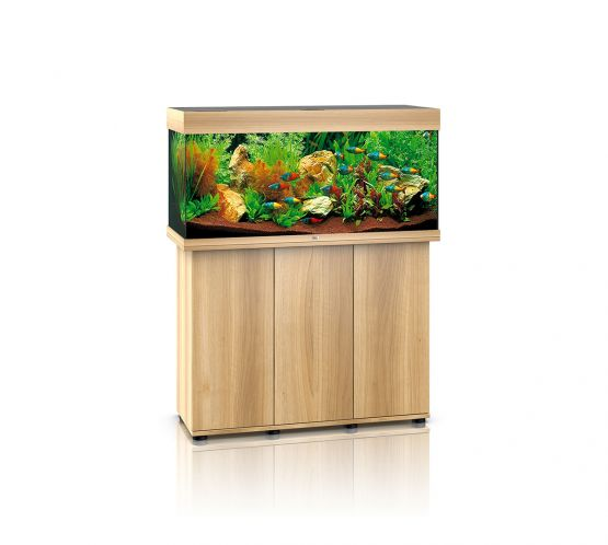 Juwel Rio 180 LED Aquarium and Cabinet (Light Wood)