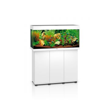 Juwel Rio 180 LED Aquarium and Cabinet (White)