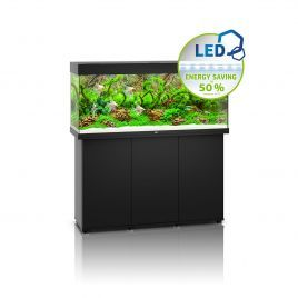 Juwel Rio 240 LED Aquarium and Cabinet (Black)