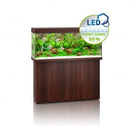 Juwel Rio 240 LED Aquarium and Cabinet (Dark Wood)