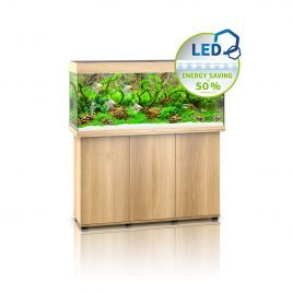 Juwel Rio 240 LED Aquarium and Cabinet (Light Wood)
