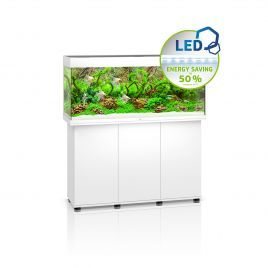 Juwel Rio 240 LED Aquarium and Cabinet (White)