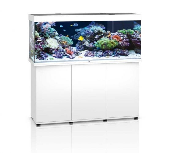 Extrem Juwel Rio 450 LED Marine Aquarium And Cabinet (White MO51