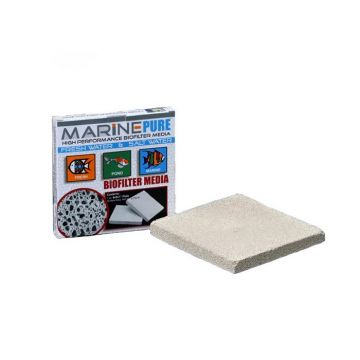 Marine Pure Biological Media - Plate (8 x 8 x 1 Inches)