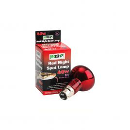 ProRep Red Night Spotlamp 40w - BC (Bayonet)