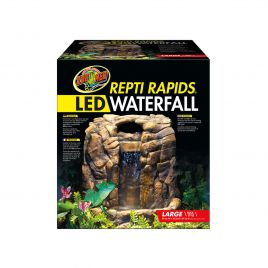 Zoo Med Repti-Rapids LED Waterfall Large Rock