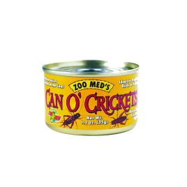Zoo Med Can O' Crickets 34g