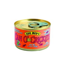 Zoo Med Can O' Mini Crickets 34g