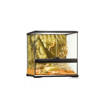 Exo Terra Glass Terrarium Small Wide - 45x45x45cm