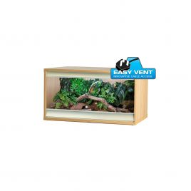 Vivexotic Viva+ Terrestrial Vivarium - Medium Oak 86x49x50cm